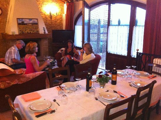 Borgo La Chiusa : Dinner by Francesca