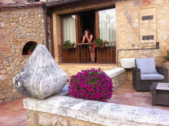 Borgo La Chiusa : Room with a view