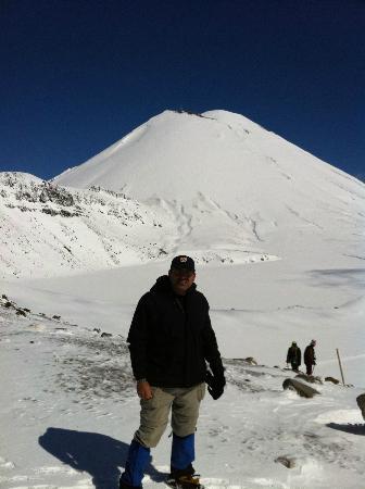 Adrift Guided Outdoor Adventures: Me in front of Mt Doom