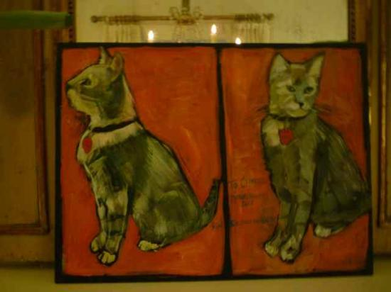 Soniat House: Portrait of hotel's cat