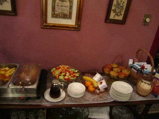 MayneView Bed & Breakfast: Some Breakfast Items