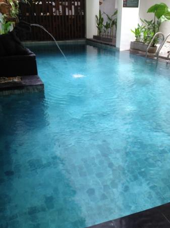 Jocs Boutique Hotel & Spa: downstairs pool