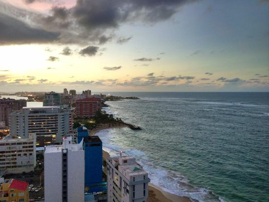 San Juan Marriott Resort & Stellaris Casino: View from the room