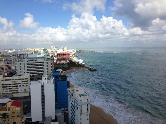 San Juan Marriott Resort & Stellaris Casino: View from room