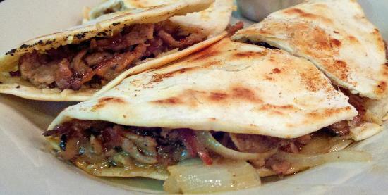 Charcoal Grill: Pit Beef Quesadilla