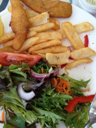 Paradise Marina Cafe : fried whiting