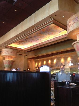 The Cheesecake Factory: view from our table
