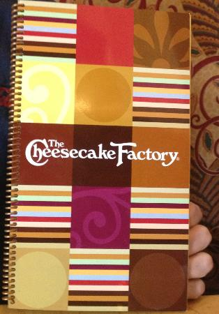 The Cheesecake Factory: Menu