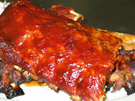 Charcoal Grill: Baby Back Ribs