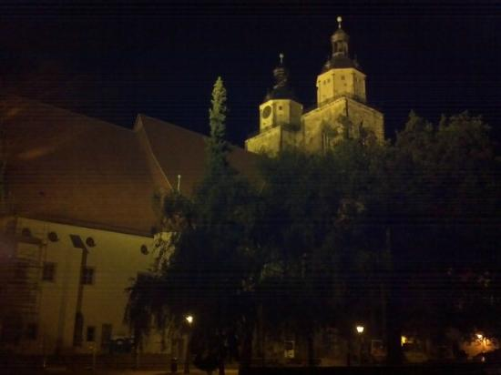 Stadtkirche, a World Heritage Treasure: View from the northeast