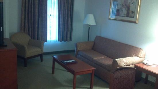Comfort Suites Arena: Living Room