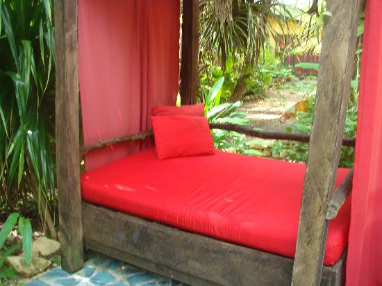 Maruba Resort Jungle Spa: Lounge in comfort