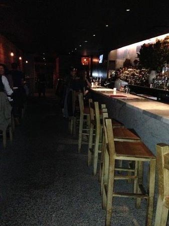 Pio Pio 8: bar area