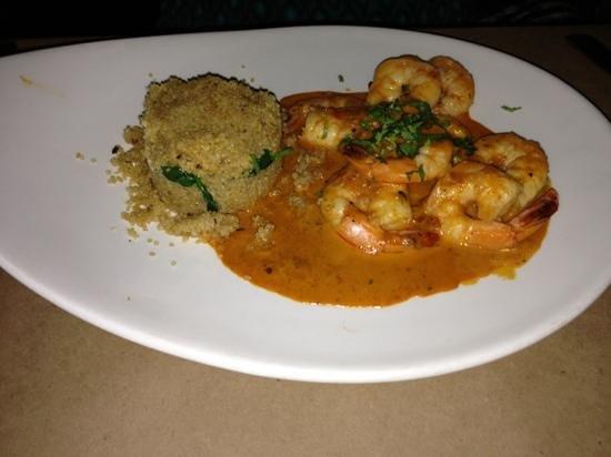 Pio Pio: shrimp dish