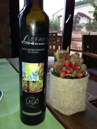 Lefay Resort & Spa Lago di Garda: oil