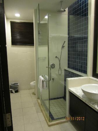 เนกซัสรีสอร์ท แอนด์ สปา การัมบูไน: 2nd bathroom in the Spa Suite