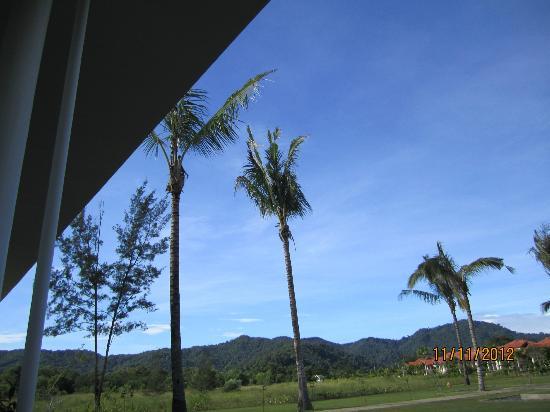 เนกซัสรีสอร์ท แอนด์ สปา การัมบูไน: Nice clear sky