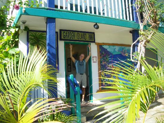 Garden Island Inn Hotel: Réception de l'hôtel