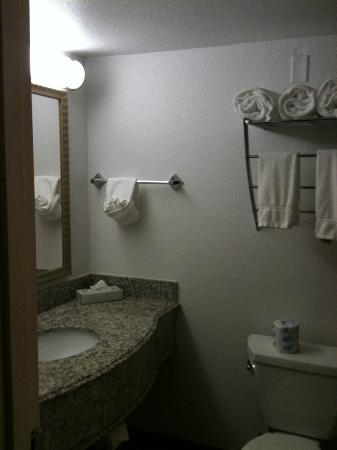La Quinta Inn & Suites Hickory: bathroom