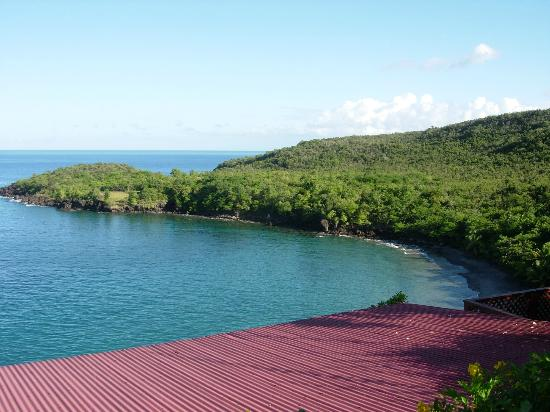Ti Kaye Resort & Spa: View of bay and beach