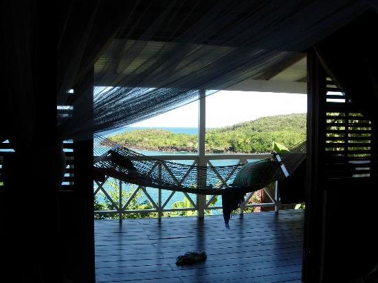 Ti Kaye Resort & Spa: View from bed