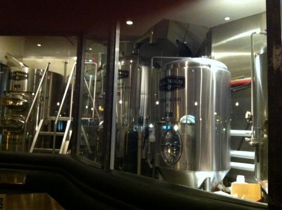 Karl Strauss Brewing Company: in bar distillery
