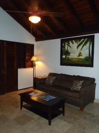 Renaissance St. Croix Carambola Beach Resort & Spa: living room area