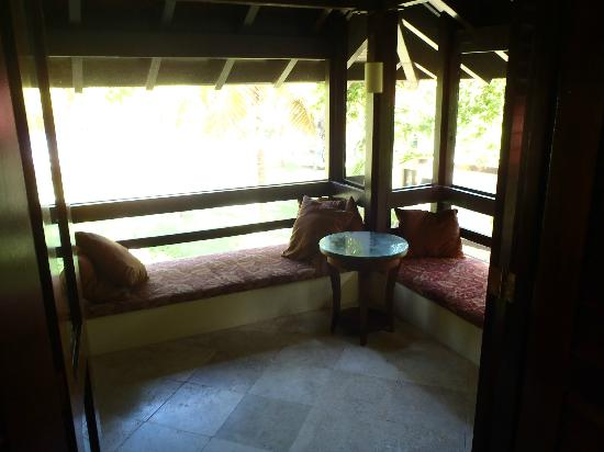 Renaissance St. Croix Carambola Beach Resort & Spa: view from on-suite porch