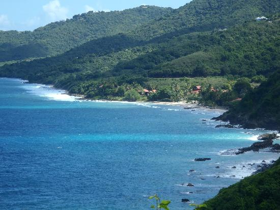 Renaissance St. Croix Carambola Beach Resort & Spa: view of resort from hiking trail