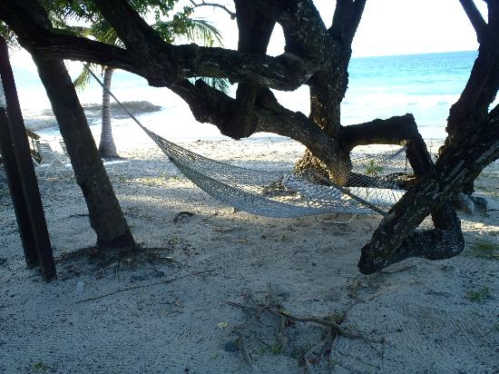 Renaissance St. Croix Carambola Beach Resort & Spa: cozy hammocks 