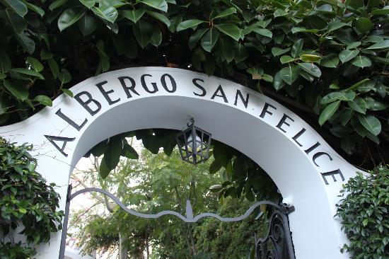 Hotel Villa Sanfelice: Entrance