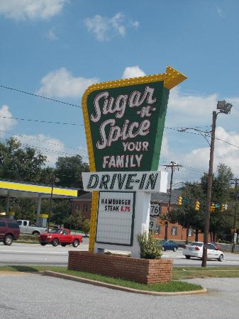 Sugar and Spice: SIGNAGE