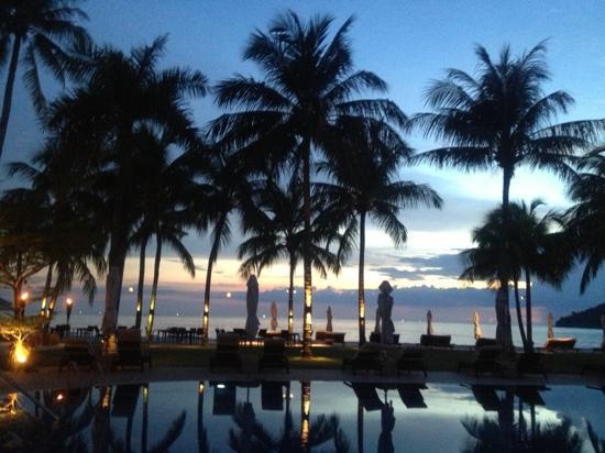 Casa del Mar, Langkawi: amazing sunset at CDM