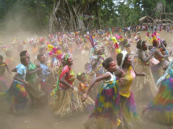 Tanna Iwaru Beach Bungalows: Toka Festival