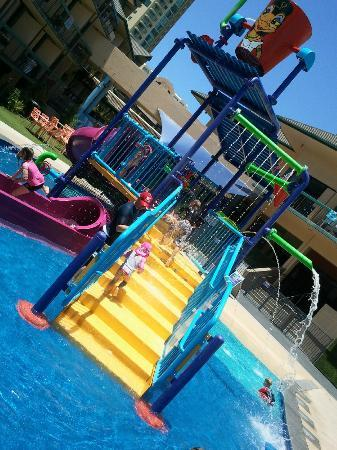 Paradise Resort Younger Kids Waterplay Area.