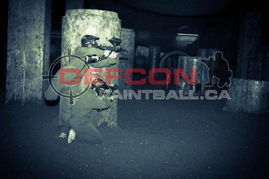 Defcon Paintball : I see you over there, we are both going to get you