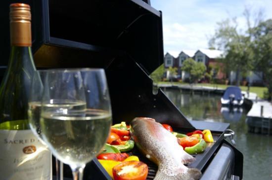 Ramada Resort Rotorua Marama: Outdoor Dining