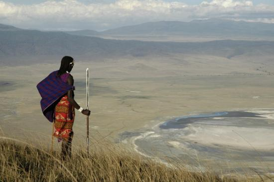 ‪‪Ngorongoro Conservation Area‬, تنزانيا: Ngorongoro view point‬