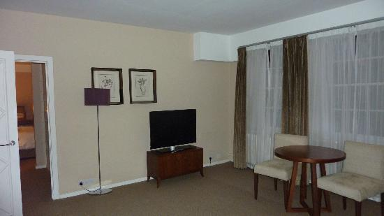 Dolphin House Serviced Apartments: Lounge - spacious!