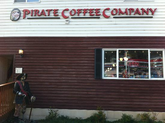 Pirate Coffee Company, Depot Bay, OR