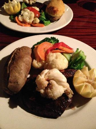 The Cattle Baron: Striploin and lobster dinner