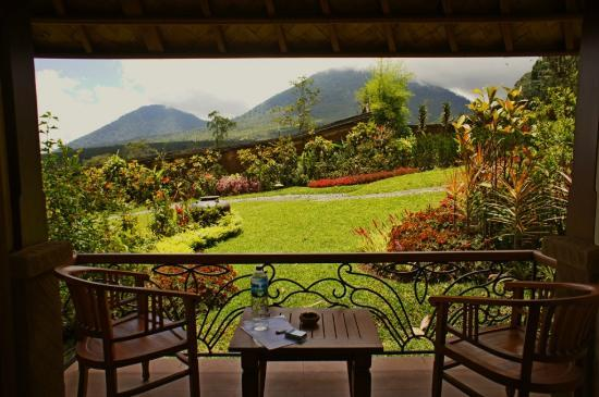 Baturiti, Indonesien: view from our veranda