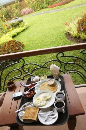 Strawberry Hill Hotel: breakfast