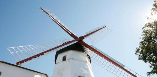 Bornholm Visitor Centre : Bornholm offers many beautiful mills