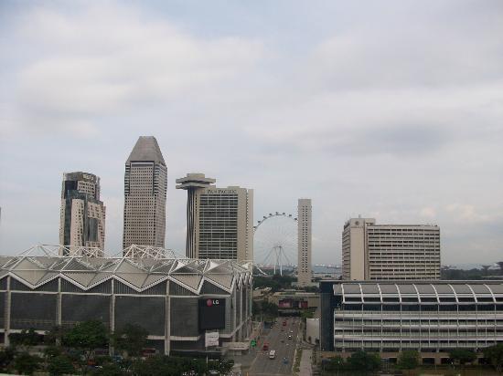 Fairmont Singapore: Aussicht vom Balkon