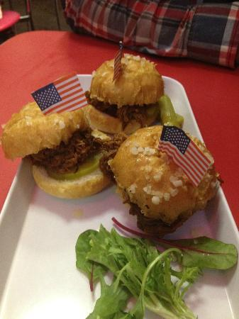 Misty's Diner: 24hr pulled pork sliders
