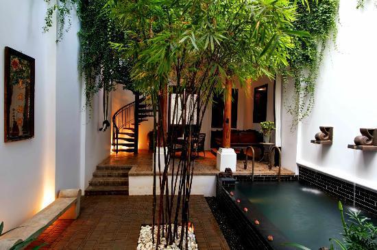 The Siam: Private Pool Villa Courtyard