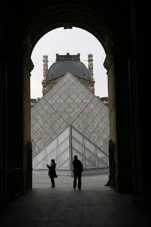 Photo Tours In Paris: Thru to the Pyramid at the Louvre