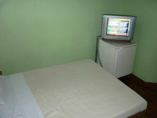 Park Bed And Breakfast Room With TV Empty Fridge