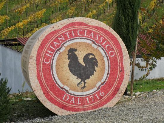 Tuscan Sunshine Tours: Logo of the Wine Chianti